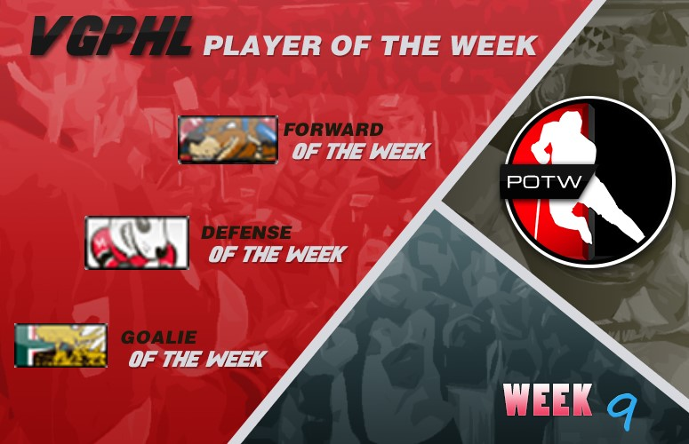 vgphl players of the week week 9