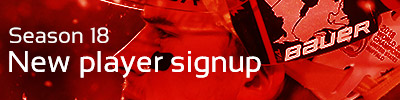 New Player Sign Up