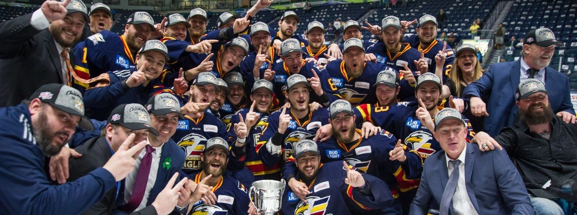 Colorado Eagles Calder Champs
