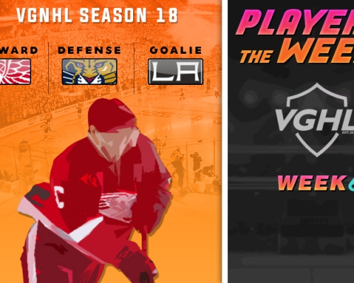 S18 VGNHL Players of the Week - Week 6
