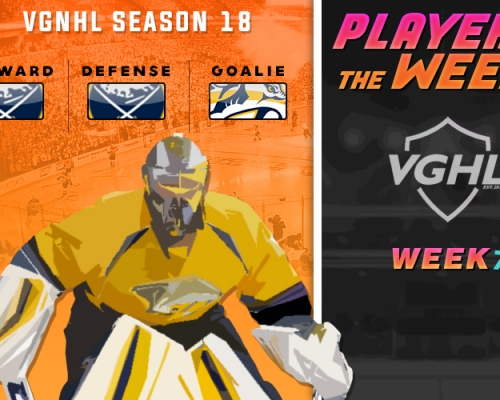 S18 VGNHL Players of the Week - Week 7