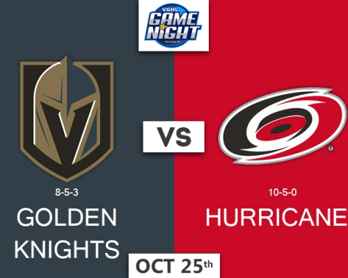 VGNHL Game Night: OCT 25th