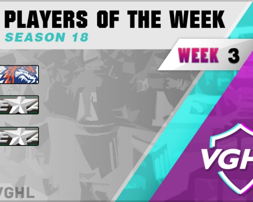 VGAHL S18 Players Of the Week 3