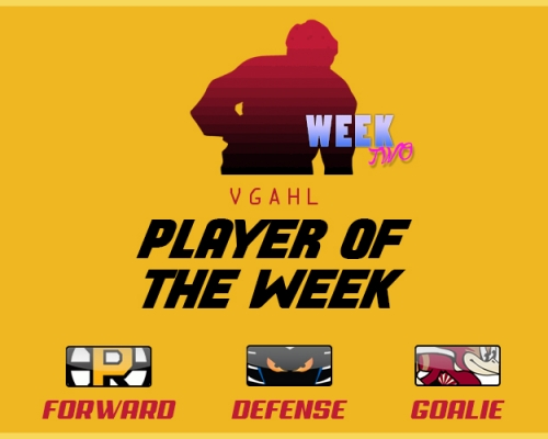 VGAHL Players of the Week 2