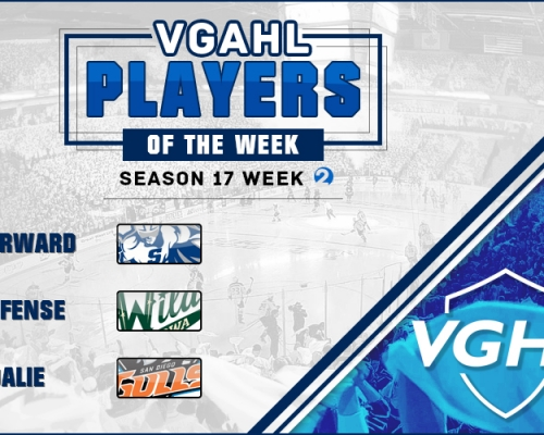 VGAHL S17 Players Of the Week 2