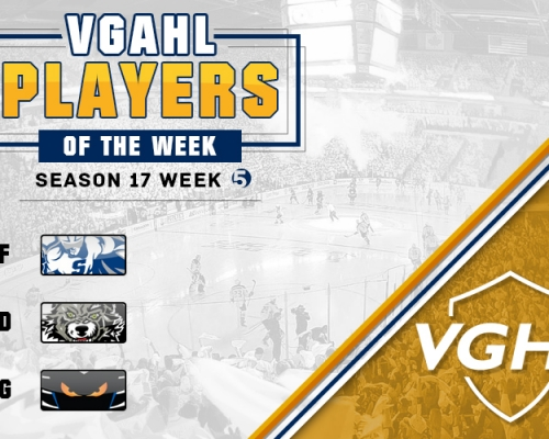 VGAHL S17 Players Of the Week 5