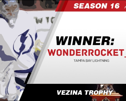 Season 16 Vezina Trophy Winner