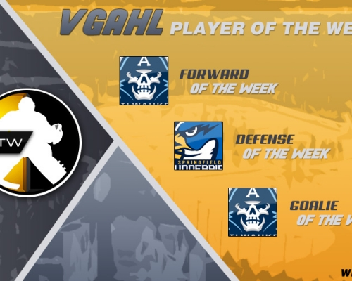 VGAHL Players Of the Week 10