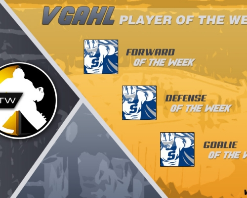 VGAHL Players Of the Week 6