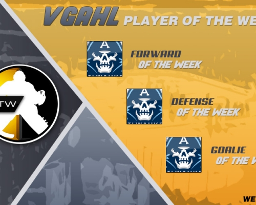 VGAHL Players Of the Week 7 & 8