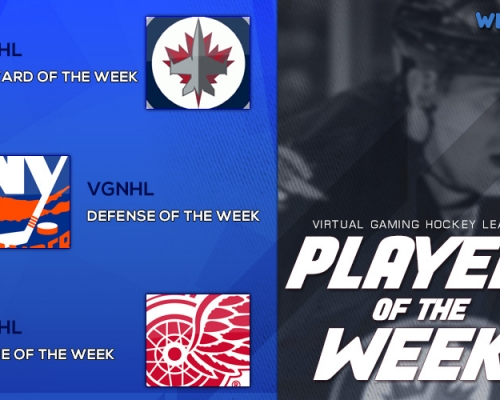VGHL Players Of the Week 6