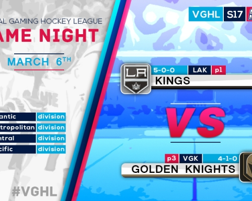 VGNHL Game Night: MAR 6th