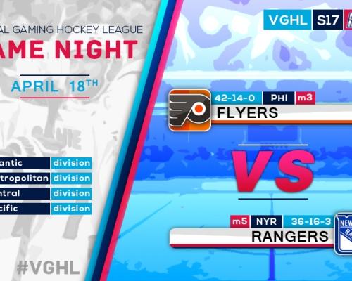 VGNHL Game Night: APRIL 18th