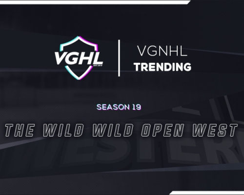 VGNHL Trending: The Wild, Wide Open West