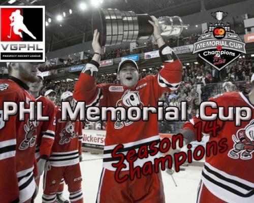 PHL Memorial Cup Champions