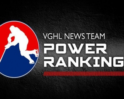 NHL and AHL Power  Rankings are live!!!