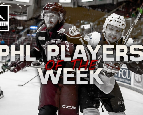 PHL Player Of The Week