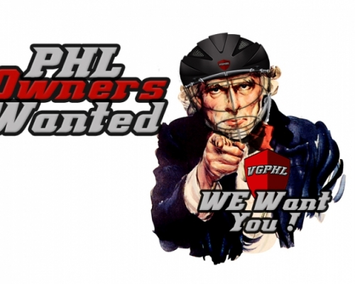 PHL Owners Wanted!