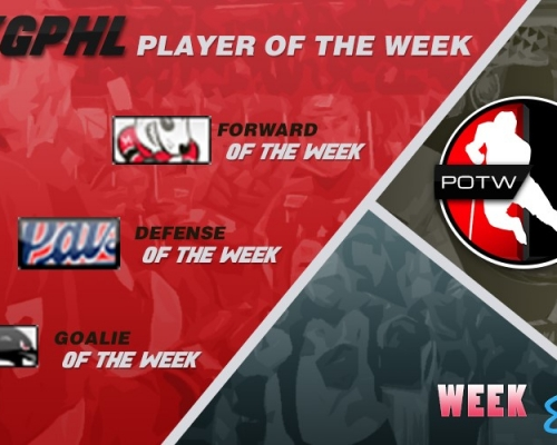 VGPHL Players of the Week - Week 8