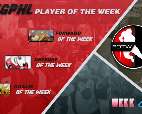 VGPHL Players of the Week - Week 9