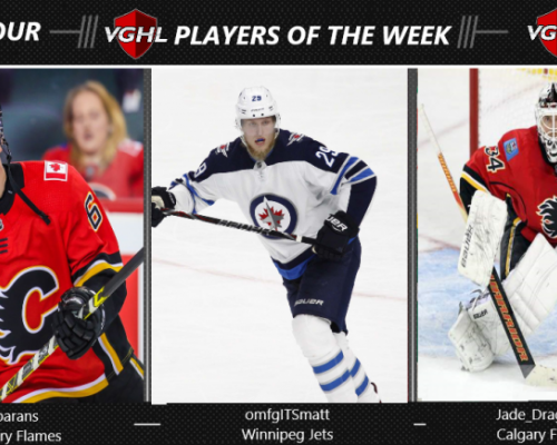 VGNHL Players of the Week - Week 4