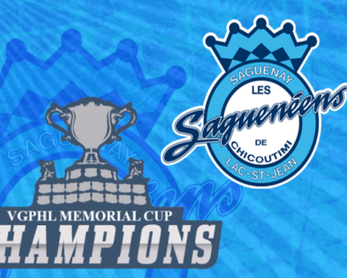 VGPHL Memorial Cup Champions