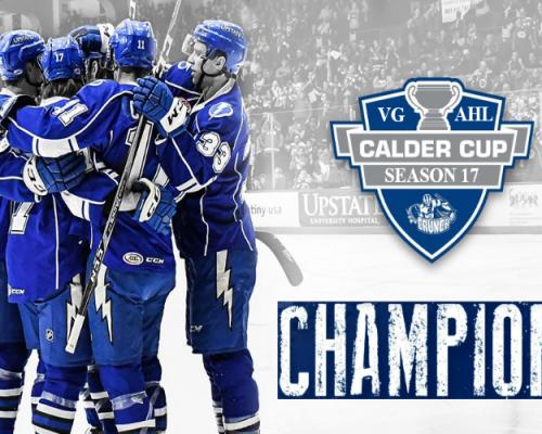 VGAHL Calder Cup Champions