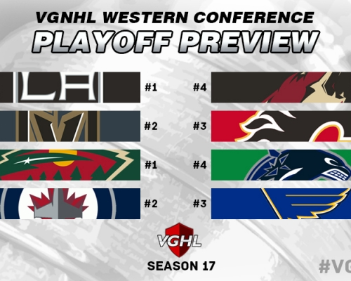 Western Conference Playoff Preview