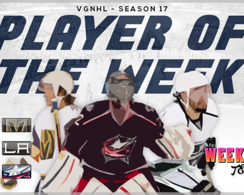 VGNHL Players of the Week - Week 10