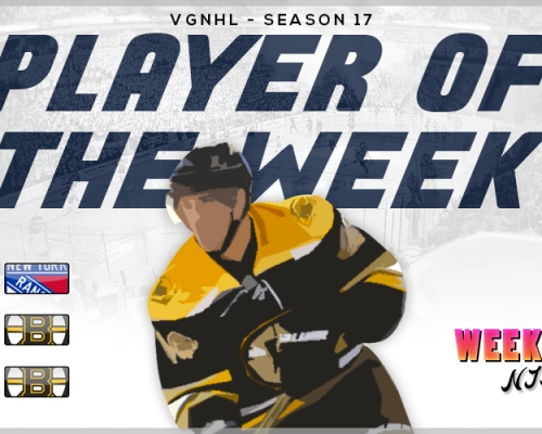 VGNHL Players of the Week - Week 9
