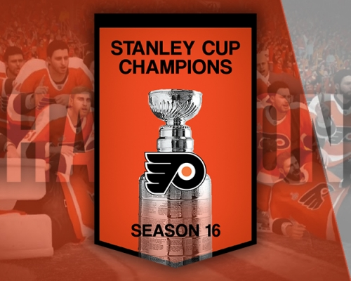 S16 Stanley Cup Champions Philadelphia Flyers