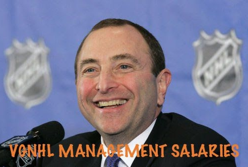 VGNHL MANAGEMENT SALARIES