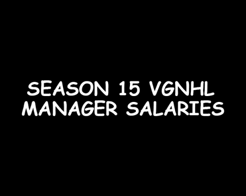 Season 15 NHL Salaries