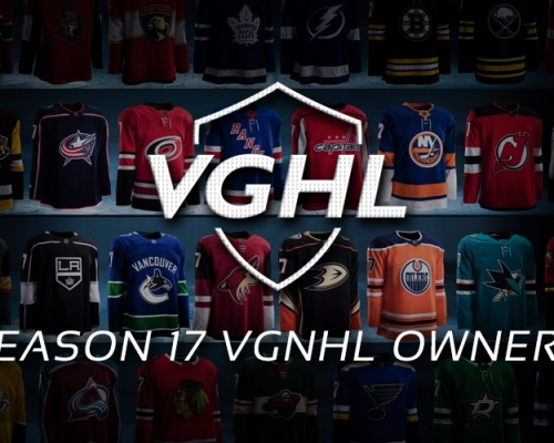 S17 VGNHL Owners Announced