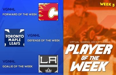 VGHL Players Of the Week 3