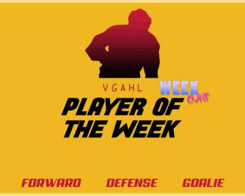 AHL Player of the Week 1