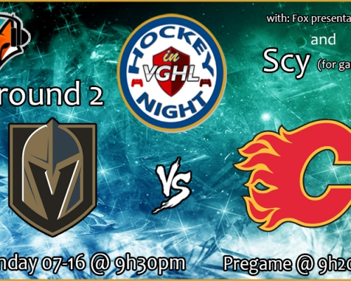 Hockey night in vghl 1 game special !!