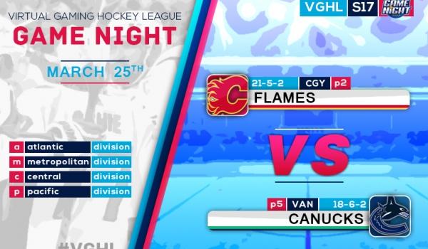 VGNHL Game Night: MAR 25th